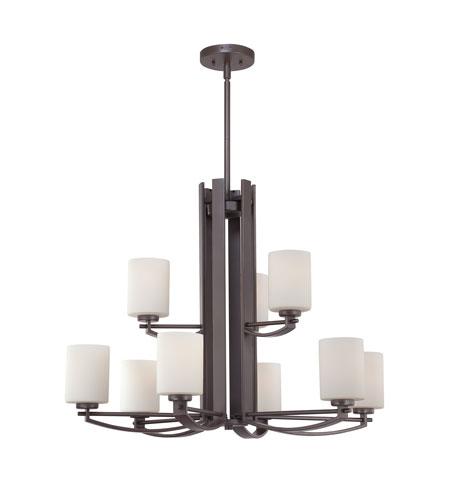Quoizel Foyer Chandelier : Quoizel taylor light foyer chandelier in western bronze