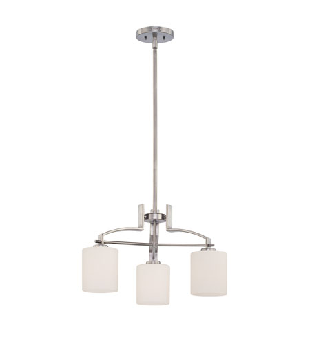 Quoizel Lighting Taylor 3 Light Chandelier in Antique Nickel TY5103AN photo