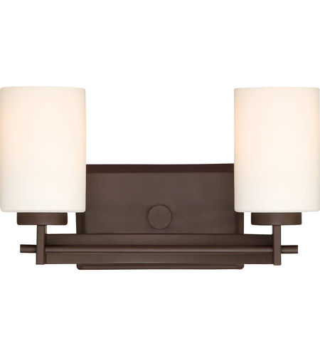 Quoizel ty8602wt taylor 2 light 14 inch western bronze for Z gallerie bathroom lights