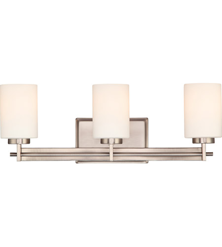 Quoizel Taylor 3 Light Bath Light in Antique Nickel TY8603AN photo
