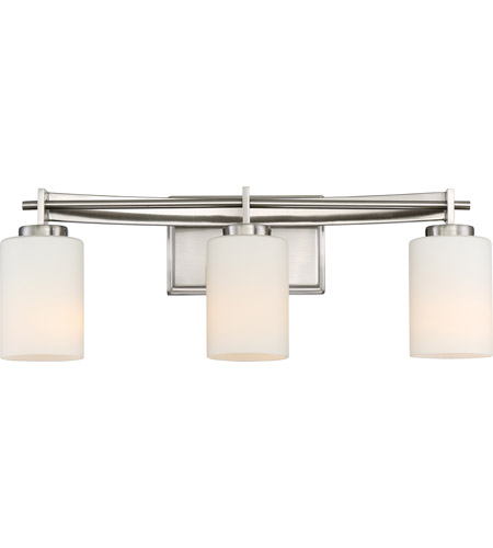 Quoizel TY8603BN Taylor 3 Light 21 inch Brushed Nickel Bath Light ...