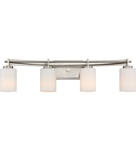 Quoizel Ty8604bn Taylor 4 Light 30 Inch Brushed Nickel Bath Light Wall Light