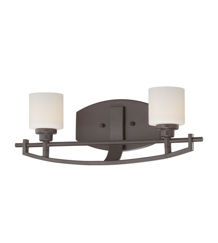 Quoizel lighting taylor 2 light bath light in western for Z gallerie bathroom lights