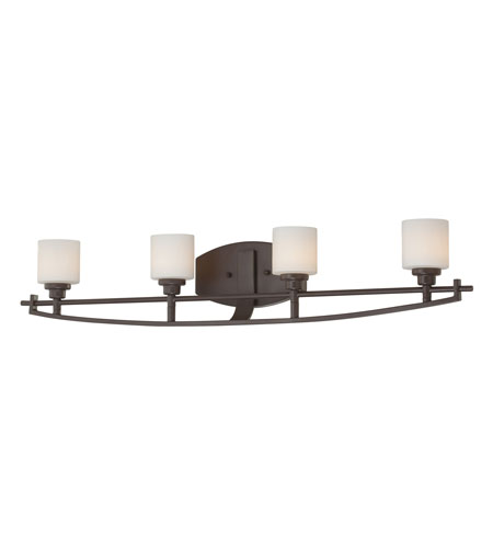 Quoizel Lighting Taylor 4 Light Bath Light in Western Bronze TY8704WT photo