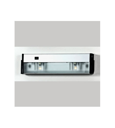 Quoizel Lighting Counter Effect 2 Light Undercabinet In Stainless Steel Uc1116ss