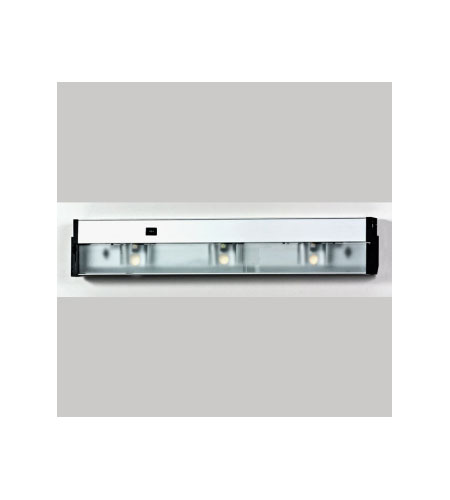 Quoizel Lighting Counter Effect 3 Light Undercabinet In Stainless Steel Uc1124ss