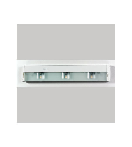 Quoizel Lighting Counter Effect 3 Light Undercabinet Lighting in White Lustre UC1124W photo