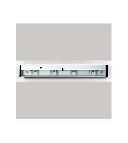Quoizel Lighting Counter Effect 4 Light Undercabinet In Stainless Steel Uc1132ss