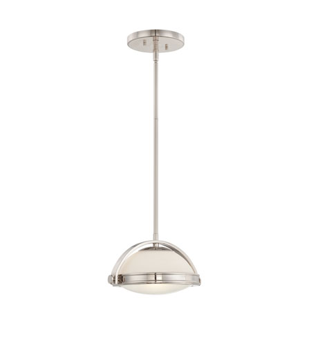 Quoizel Lighting Uptown Fulton 1 Light Pendant in Imperial Silver UPFT1810IS photo