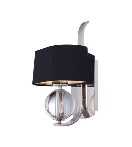 Quoizel Lighting Uptown Gotham 1 Light Wall Sconce in Imperial Silver UPGO8701IS photo