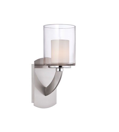 Quoizel Lighting Uptown Liberty 1 Light Wall Sconce in Brushed Nickel UPLB8701BN photo