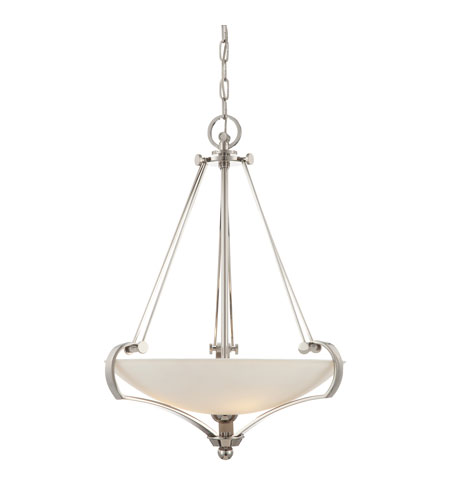 Quoizel Lighting Uptown Sutton Place 4 Light Pendant in Imperial Silver UPSP2822IS photo