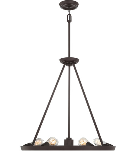 Quoizel UPTR5007WT Uptown Theater Row 7 Light 28 Inch