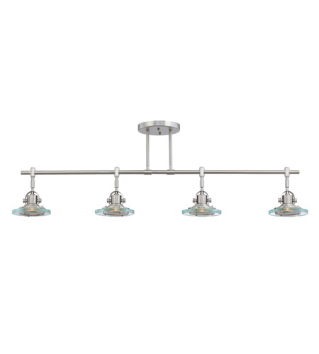 Quoizel Lighting Venture 4 Light Ceiling Track Lights in Empire Silver VR1404ES photo