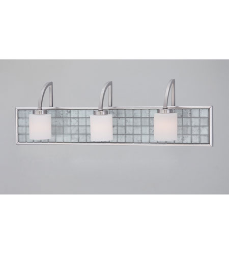Quoizel Lighting Vetreo Clouds 3 Light Bath in Brushed Nickel VTCL8603BN photo