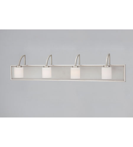 Quoizel Lighting Vetreo Make Your Own 4 Light Bath in Brushed Nickel VTMY8604BN photo