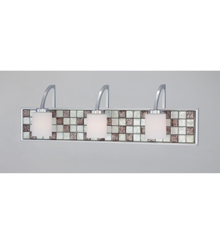 Quoizel Lighting Vetreo Retro 3 Light Bath in Polished Chrome VTRT8603C photo