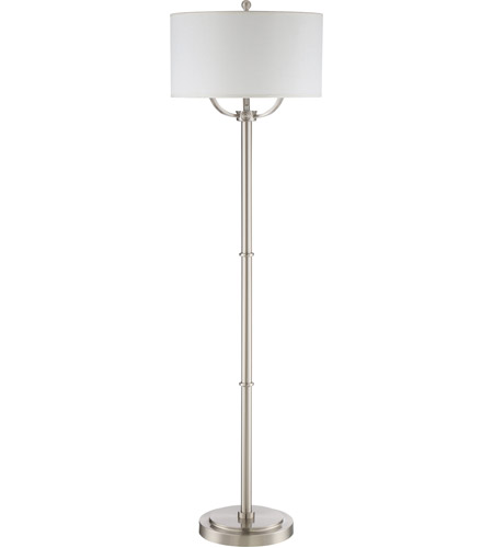 Quoizel VVBY9362BN Vivid Broadway 62 inch 75 watt Brushed Nickel Floor Lamp Portable Light alternative photo thumbnail