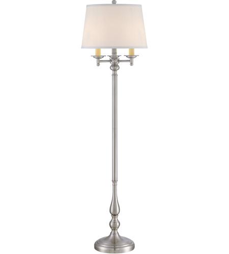 Quoizel vvky9658bn vivid 58 inch 150 watt brushed nickel for 150 watt floor lamp