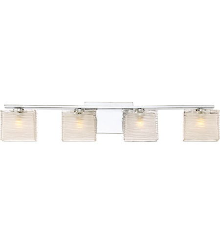 Quoizel WCP8604C Westcap 4 Light 32 inch Polished Chrome Bath Light Wall Light, Extra Large photo thumbnail