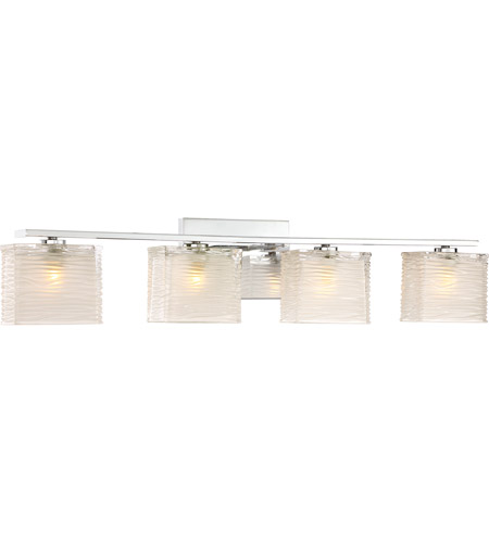 Quoizel WCP8604C Westcap 4 Light 32 inch Polished Chrome Bath Light Wall Light, Extra Large alternative photo thumbnail