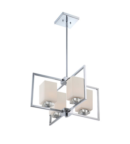 Quoizel Lighting Wain 4 Light Chandelier in Polished Chrome WIN5004C photo