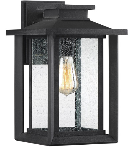 Outside Lights No Earth: Quoizel WKF8409EK Wakefield 1 Light 14 Inch Earth Black