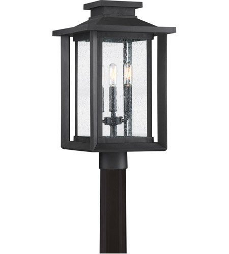 Quoizel WKF9011EK Wakefield 3 Light 19 inch Earth Black Outdoor Post Lantern  sc 1 st  Quoizel Lighting Lights & Quoizel WKF9011EK Wakefield 3 Light 19 inch Earth Black Outdoor Post ...