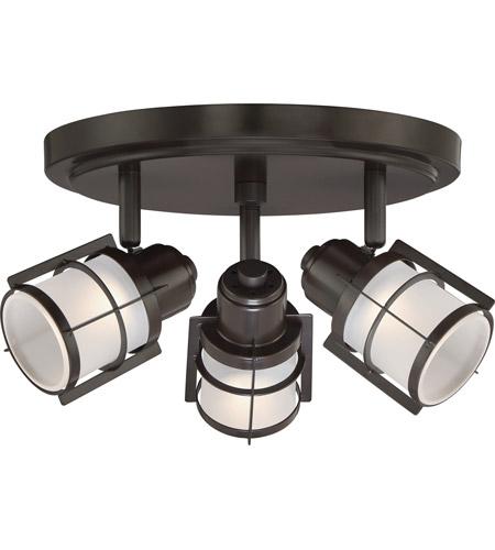 Quoizel WNS1610WT Winside LED 12 Inch Western Bronze Flush
