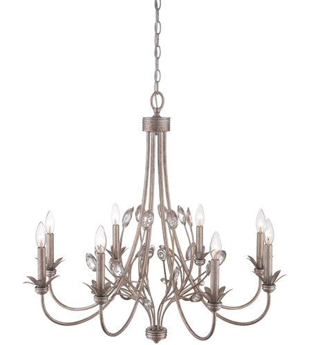 Quoizel Wesley 8 Light Chandelier in Italian Fresco WSY5008IF photo