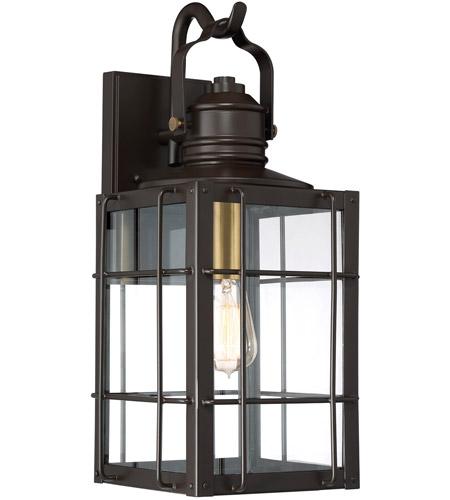 Quoizel WTO8409WT West Oak 1 Light 20 Inch Western Bronze
