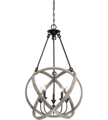 Quoizel wvn2824wh woven 5 light 24 inch weathered wood pendant quoizel wvn2824wh woven 5 light 24 inch weathered wood pendant ceiling light naturals aloadofball Image collections