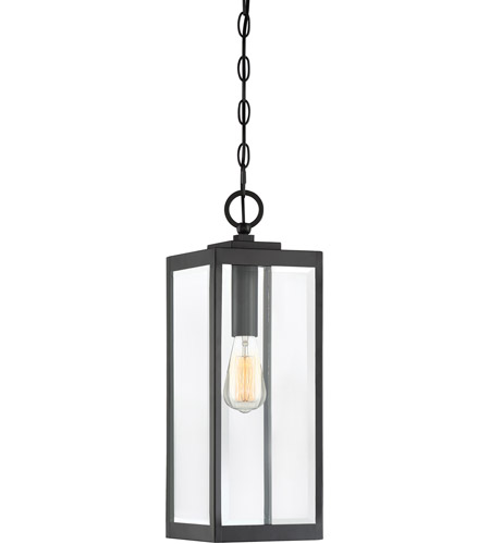 Outside Lights No Earth: Quoizel WVR1907EK Westover 1 Light 7 Inch Earth Black
