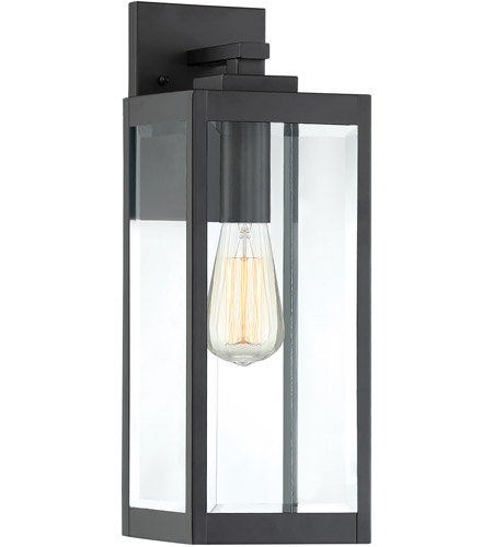 Quoizel WVR8406EK Westover 1 Light 17 inch Earth Black Outdoor Wall Lantern photo