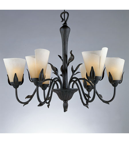 Quoizel Yuma 6 Light Chandelier in Imperial Bronze YU5149IB photo