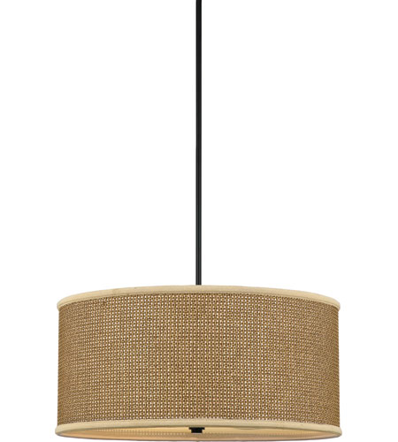 Quoizel Lighting Zen 4 Light Pendant in Mystic Black ZE2822K photo