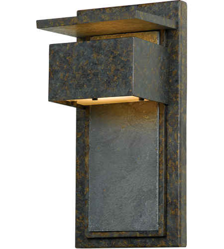 Quoizel ZP8414MD Zephyr 1 Light 14 inch Muted Bronze Outdoor Wall Lantern photo
