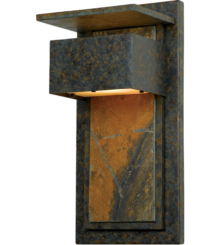 Quoizel Lighting Zephyr 1 Light Outdoor Wall Lantern in Muted Bronze ZP8418MD photo