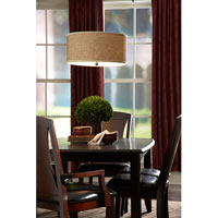 Quoizel Lighting Zen 4 Light Pendant in Mystic Black ZE2822K alternative photo thumbnail