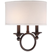 Quoizel ADA8702LN Adams 2 Light 12 inch Leathered Bronze Wall Sconce Wall Light alternative photo thumbnail