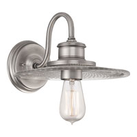 Quoizel Lighting Admiral 1 Light Wall Sconce in Antique Nickel ADM8701AN