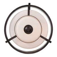 Quoizel Lighting Adonis 3 Light Semi-Flush Mount in Dark Cherry ADS1715DC alternative photo thumbnail