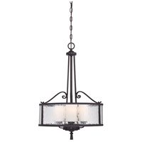 Adonis 3 Light 18 inch Dark Cherry Pendant Ceiling Light