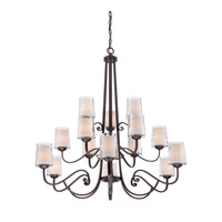 Quoizel Lighting Adonis 15 Light Chandelier in Dark Cherry ADS5015DC