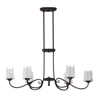 Quoizel ADS639DC Adonis 6 Light 39 inch Dark Cherry Island Light Ceiling Light alternative photo thumbnail
