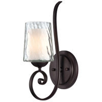 Quoizel Lighting Adonis 1 Light Wall Sconce in Dark Cherry ADS8701DC