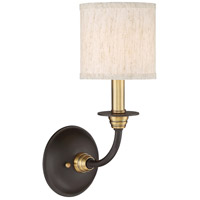 Audley 1 Light 5 inch Old Bronze Wall Sconce Wall Light