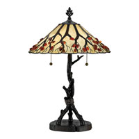 Quoizel AG711TVA Agate Portable 25 inch 75 watt Valiant Bronze Table Lamp Portable Light alternative photo thumbnail