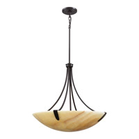 Quoizel AI2824IB Arcadia 5 Light 24 inch Imperial Bronze Pendant Ceiling Light, Naturals  alternative photo thumbnail