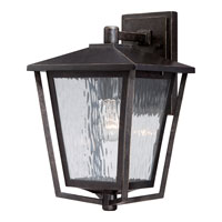 Quoizel Lighting Alfresco 1 Light Outdoor Wall Lantern in Imperial Bronze ALF8410IB